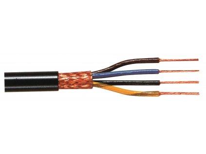 Datový Kabel na Cívce 4x 0.25 - 100 m Černá