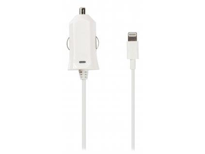 Automobilový nabíjecí adaptér 2.4 A s Apple Lightning, Valueline VLMP39891W10