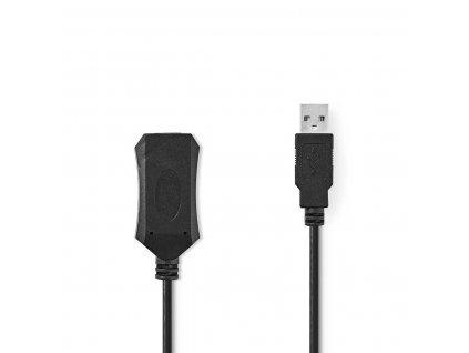 Nedis aktivní prodlužovací kabel USB 2.0, 10 m (CCGP60EXTBK100)