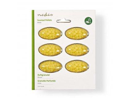 Nedis vonné granule do vysavače s vůní citrónu, 6 ks (VCFP112LEM)