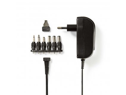 Nedis ACPA002 univerzální napájecí adaptér 3-12V, 1.5A