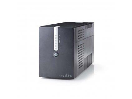 Nedis UPSD2000VBK záložní zdroj UPS 2000 VA, 1200 W, 4 zásuvky