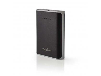 Nedis UPBK10000BK powerbanka 10000 mAh, 2 x USB, 3.1 A, černá