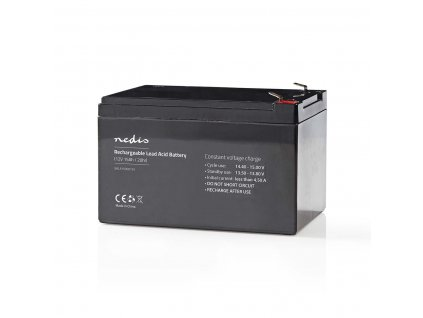 Nedis olověná baterie 12V, 15Ah, 151 x 98 x 95 mm (BALA1500012V)