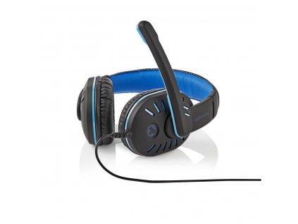 Nedis GHST100BK herní sluchátka s mikrofonem, regulace hlasitosti, jack 3.5 mm