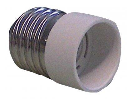 Redukce patice žárovky E14 na E27 (EL-E27E14)