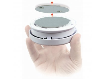 Nedis DTCTBR10 samolepicí magnetický držák pro detektory tepla a kouře Nedis