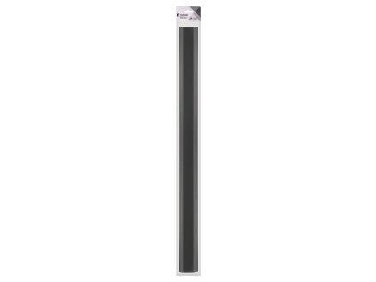 König KNM-CC75B krycí lišta na kabeláž k TV, 750 x 60 mm, černá