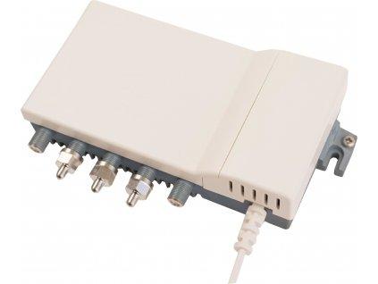 Hirschmann HV14S CATV zesilovač 5.5 dB, 5 - 1006 MHz, 4 výstupy