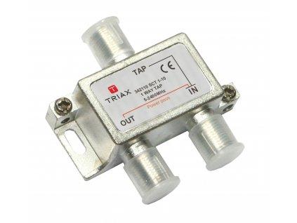 CATV Rozbočovač 2.7 dB / 5-2400 MHz - 1 Výstup