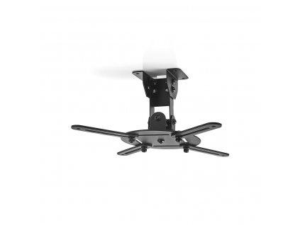 Nedis PJCM100BK stropní držák projektoru full motion 360°, 130 mm, 10 kg, černá