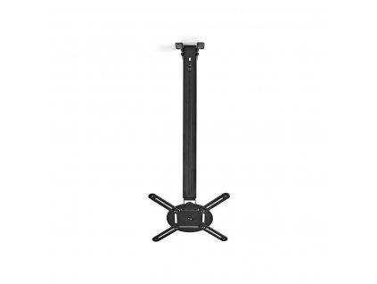 Nedis PJCM200BK stropní držák projektoru full motion 360°, 550-1000 mm, 10 kg, černá