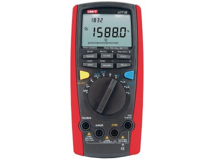 Digitální multimetr Skutečná efektivní hodnota 20000 číslic 1000 VAC 1000 VDC 10 ADC