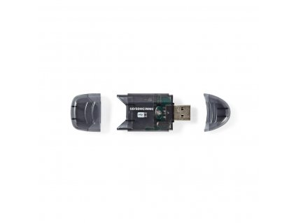 Nedis CRDRU2100BK USB 2.0 čtečka paměťových karet SD, SDHC, MMC