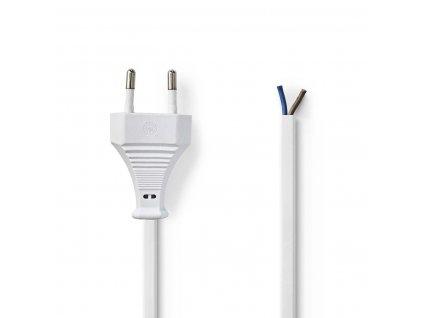 Napájecí flexo Euro kabel 2 x 0.75 mm, 2 m, bílá (PCGP11700WT20)