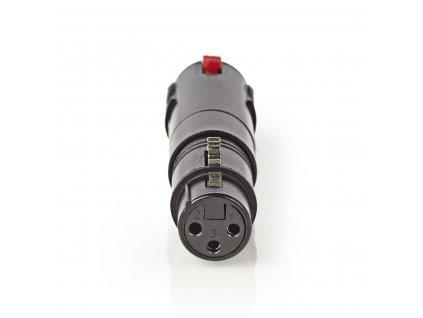 Nedis adaptér XLR 3pin zásuvka - 6.3 mm zásuvka (COTP15944BK)