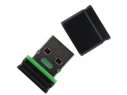 Integral Fusion Micro flashdisk USB 2.0, 32GB, černý, FD2-32G-MICRO