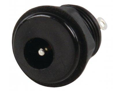 Konektor DC souosý napájecí zástrčka 2.0/6.3 mm, panelová (LUM-NEBJ21C)
