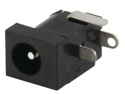 Konektor DC souosý napájecí zástrčka 1.95/6 mm, do DPS (LUM-NEB21R)