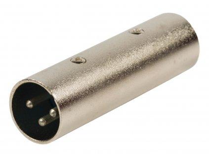 Valueline XLR adaptér XLR 3-pin zástrčka - XLR 3-pin zástrčka (XLR-3M3M)