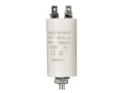 Kondenzátor rozběhový 1.5uf / 450 V s fastony (W1-11001N)
