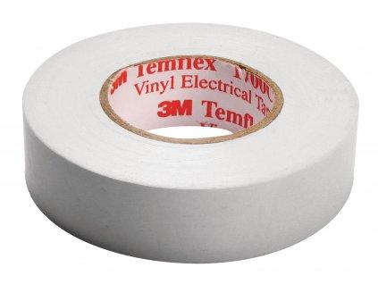 3M páska izolační 15mm x 10m - bílá (TAPE-WHITE/3M)