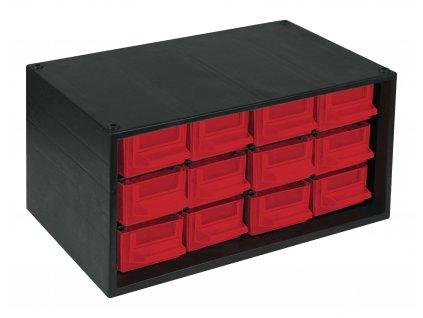 Stohovatelný zásuvkový modul, 12 zásuvek, TAYG-MODULE3R