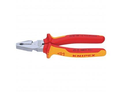 Knipex 02 06 180 kombinované kleště 180 mm VDE