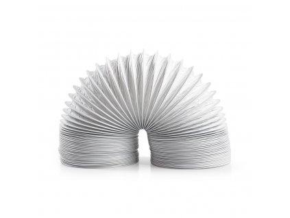 Nedis vzduchová ventilační trubka PVC, 1.5 m/100 mm, bílá (DRHO100BWT15)