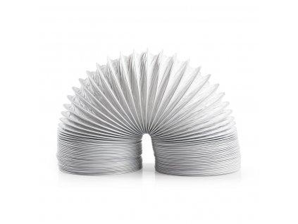 Nedis vzduchová ventilační trubka PVC, 3 m/100 mm, bílá (DRHO100BWT30)