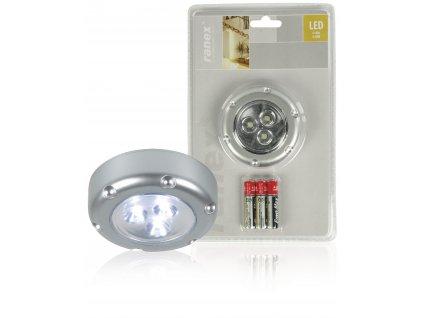 LED dotykové bateriové svítidlo Florenz, stříbrné Ranex RA-6000072