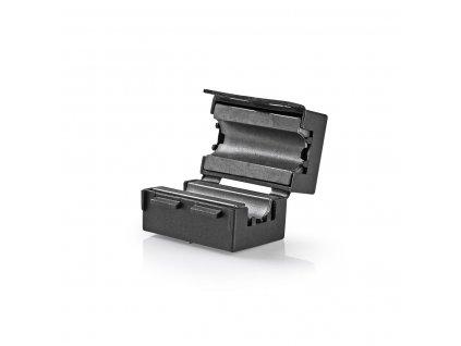 Feritový video filtr 300 MHz pro kabely průměru 10 mm, 25 ks, černá (CVVC48910BK)