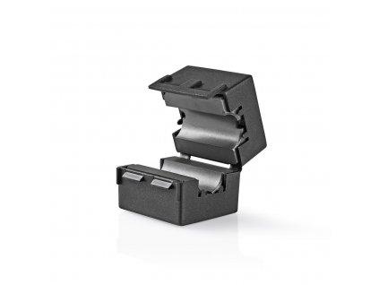 Feritový video filtr 300 MHz pro kabely průměru 12 mm, 25 ks, černá (CVVC48912BK)