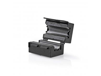 Feritový video filtr 300 MHz pro kabely průměru 7.5 mm, 25 ks, černá (CVVC48914BK)