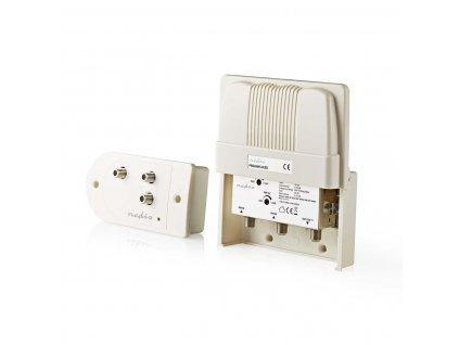 Nedis SAMP100WT anténní stožárový zesilovač 25 dB s regulací zesílení