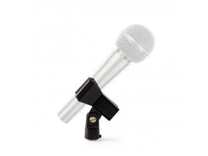 """Nedis klešťový držák na mikrofon s uchycením 5/8"""" a 3/8"""" (MPCL10BK)"""