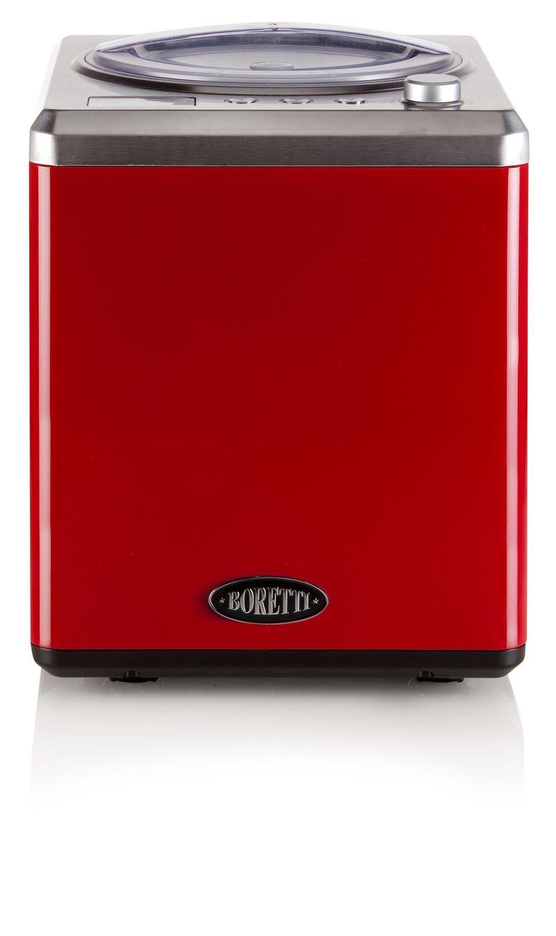 Exkluzivní zmrzlinovač s kompresorem - Boretti B101, červený