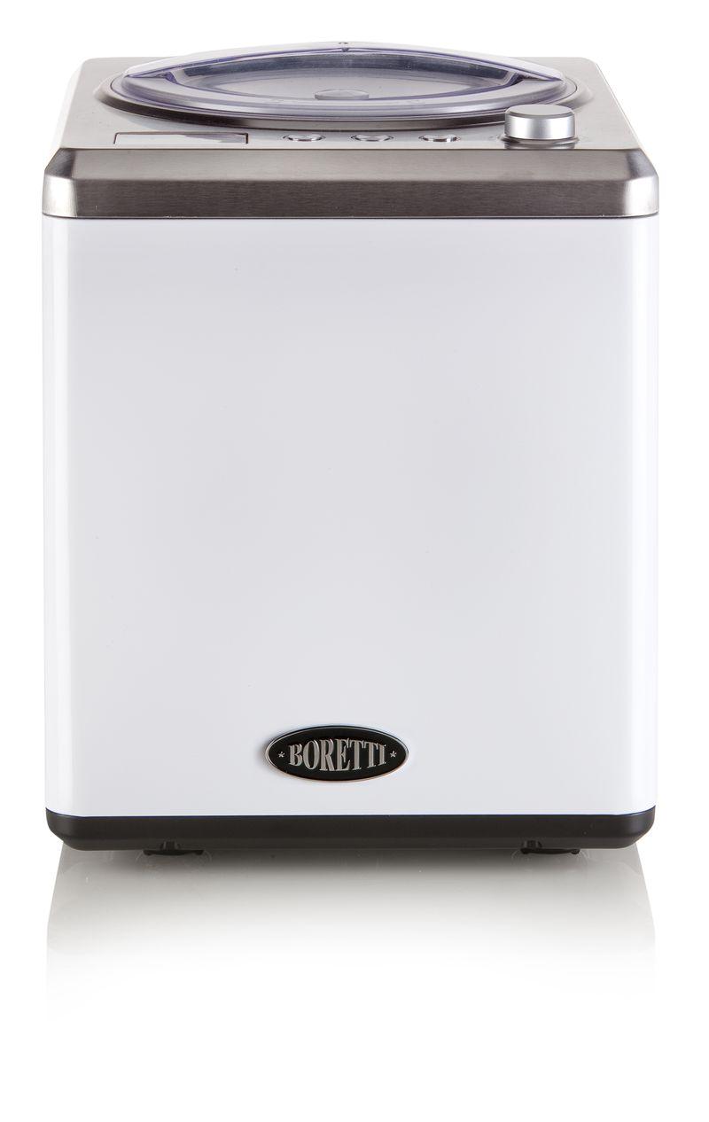 Exkluzivní zmrzlinovač s kompresorem - Boretti B102, bílý