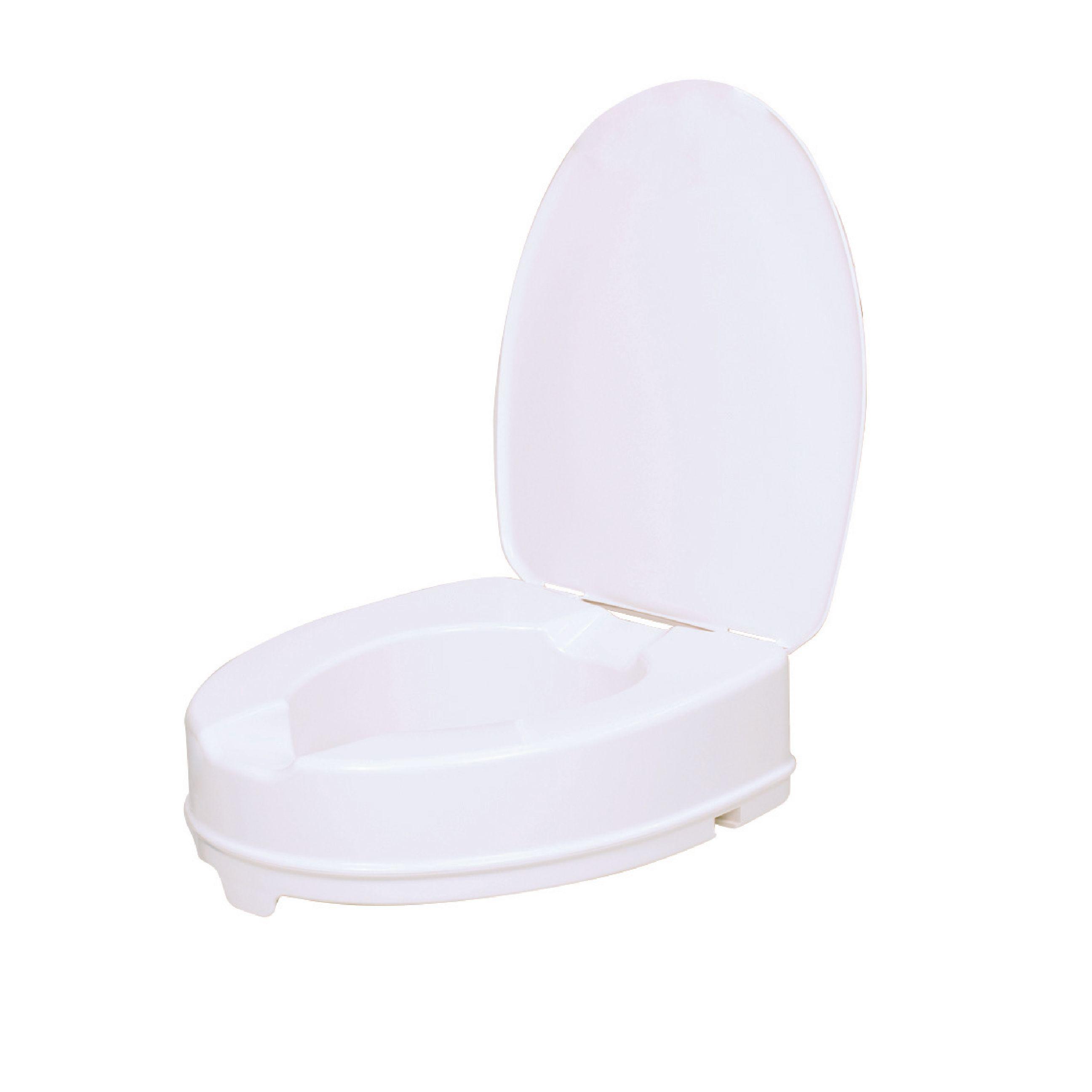Nástavec na WC 10 cm s poklopem Vitility VIT-70110530