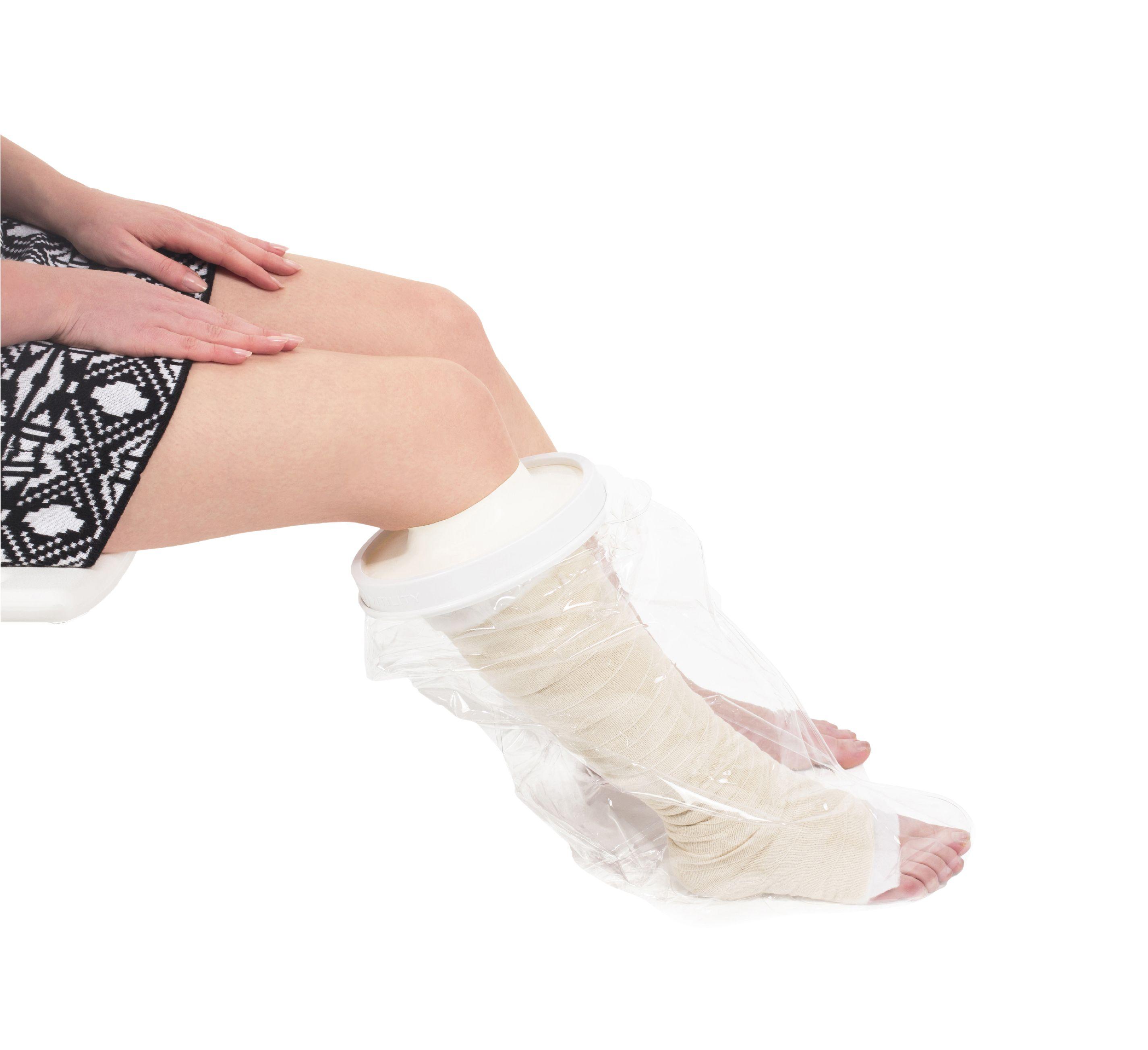 Ochranný sprchovací návlek na nohu poloviční Vitility VIT-70110780