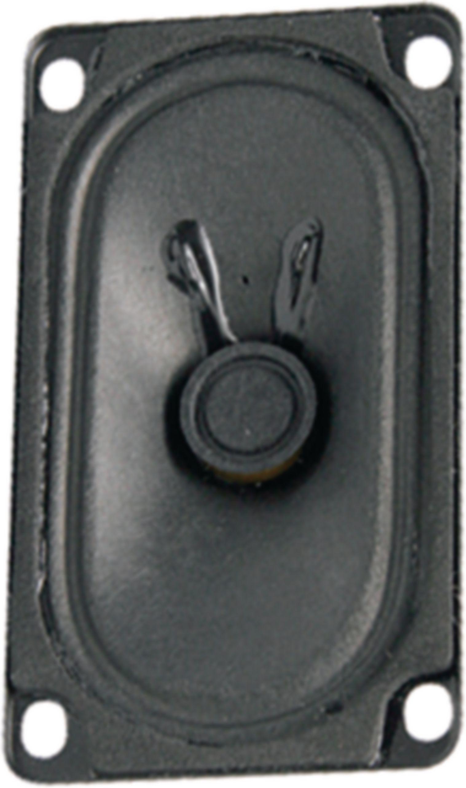 Širokopásmový oválný reproduktor 4 Ohm 4 W Visaton, VS-SC5.9ND/4