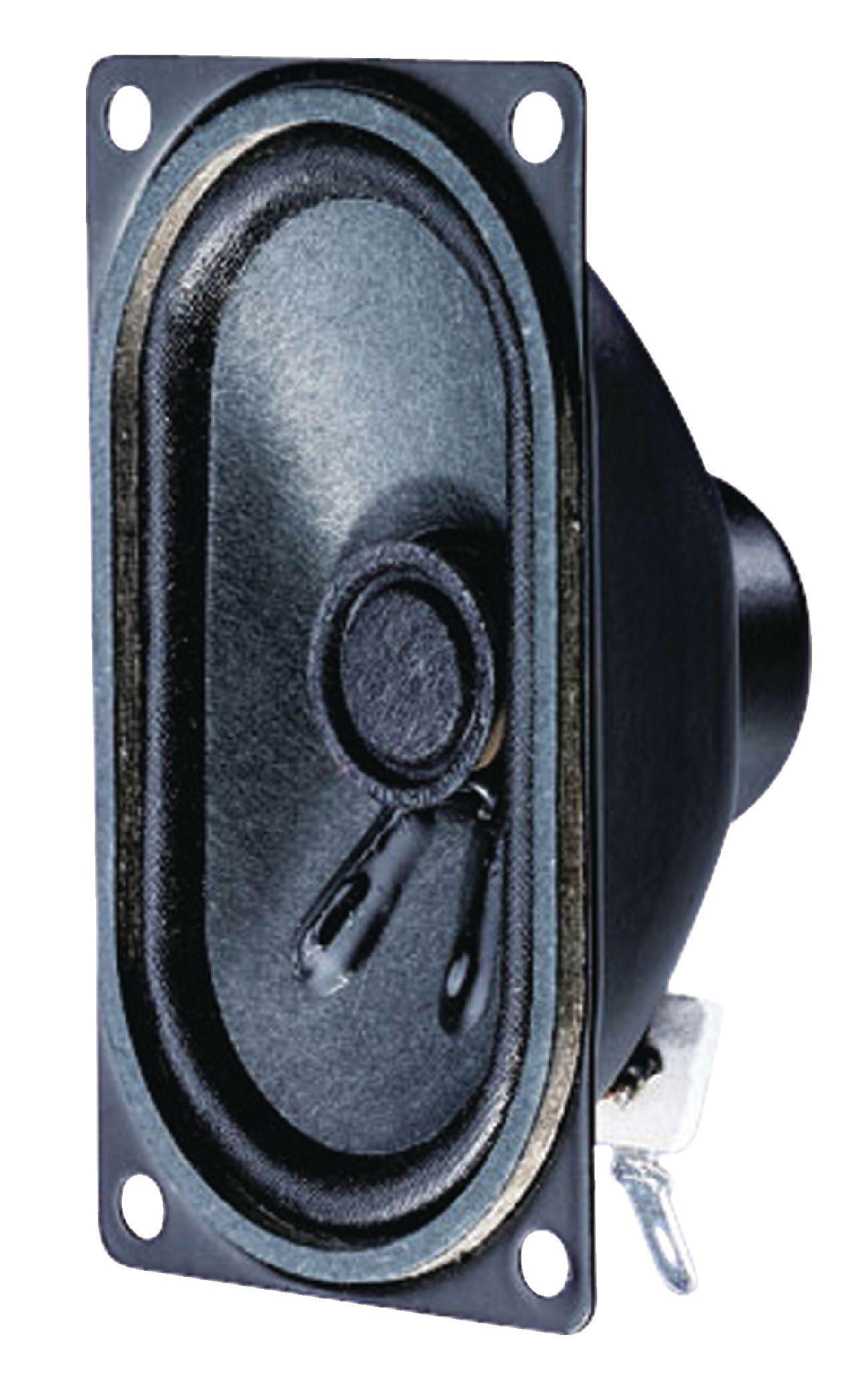 Širokopásmový oválný reproduktor 8 Ohm 4 W Visaton, VS-SC4.7ND/8