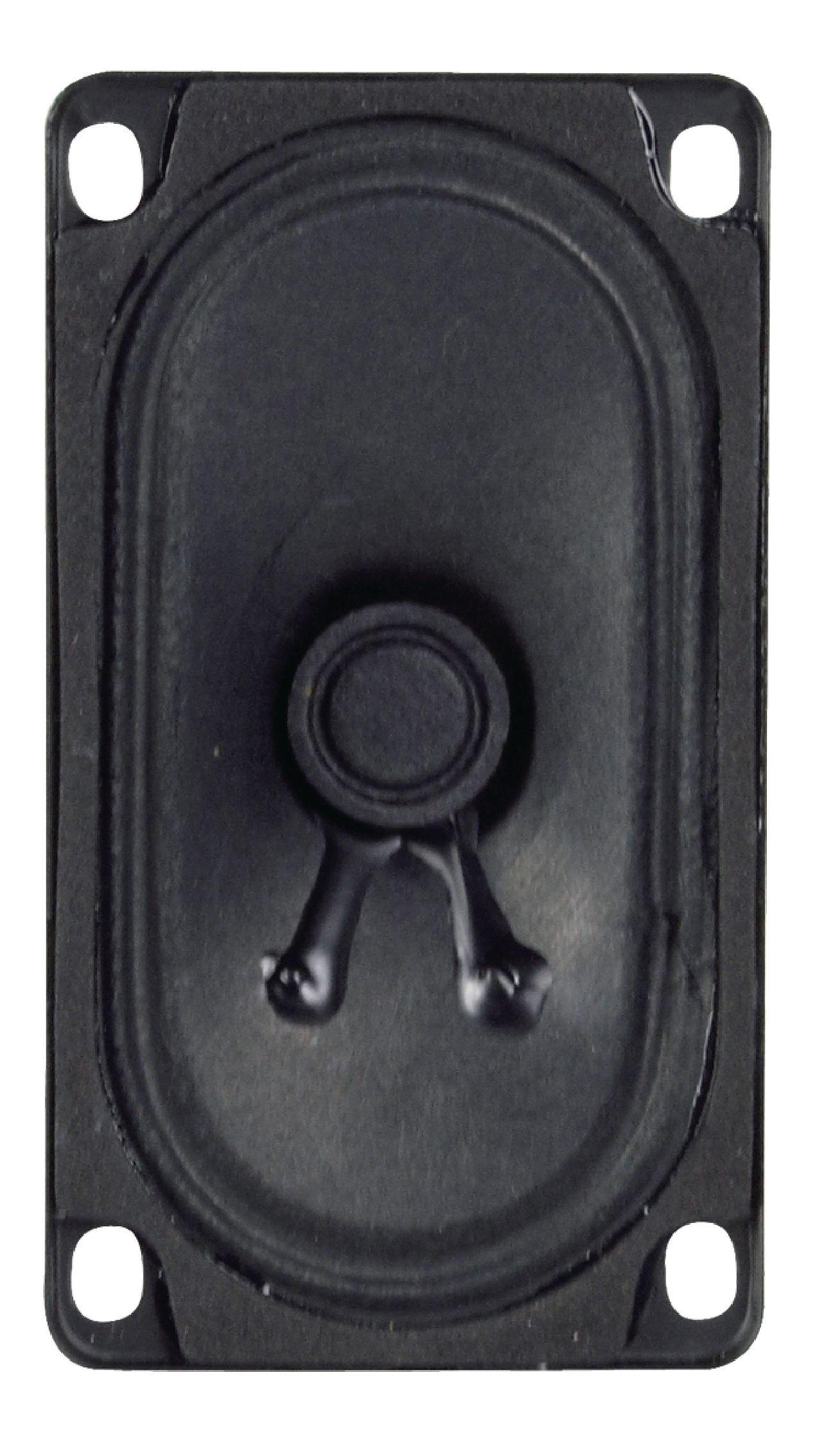 Širokopásmový oválný reproduktor 8 Ohm 4 W Visaton, VS-SC5.9ND/8