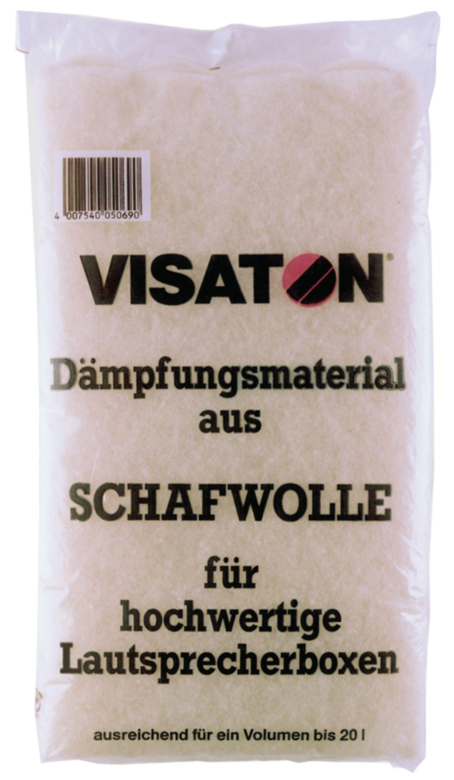 Tlumicí materiál z ovčí vlny, Visaton VS-WOOL
