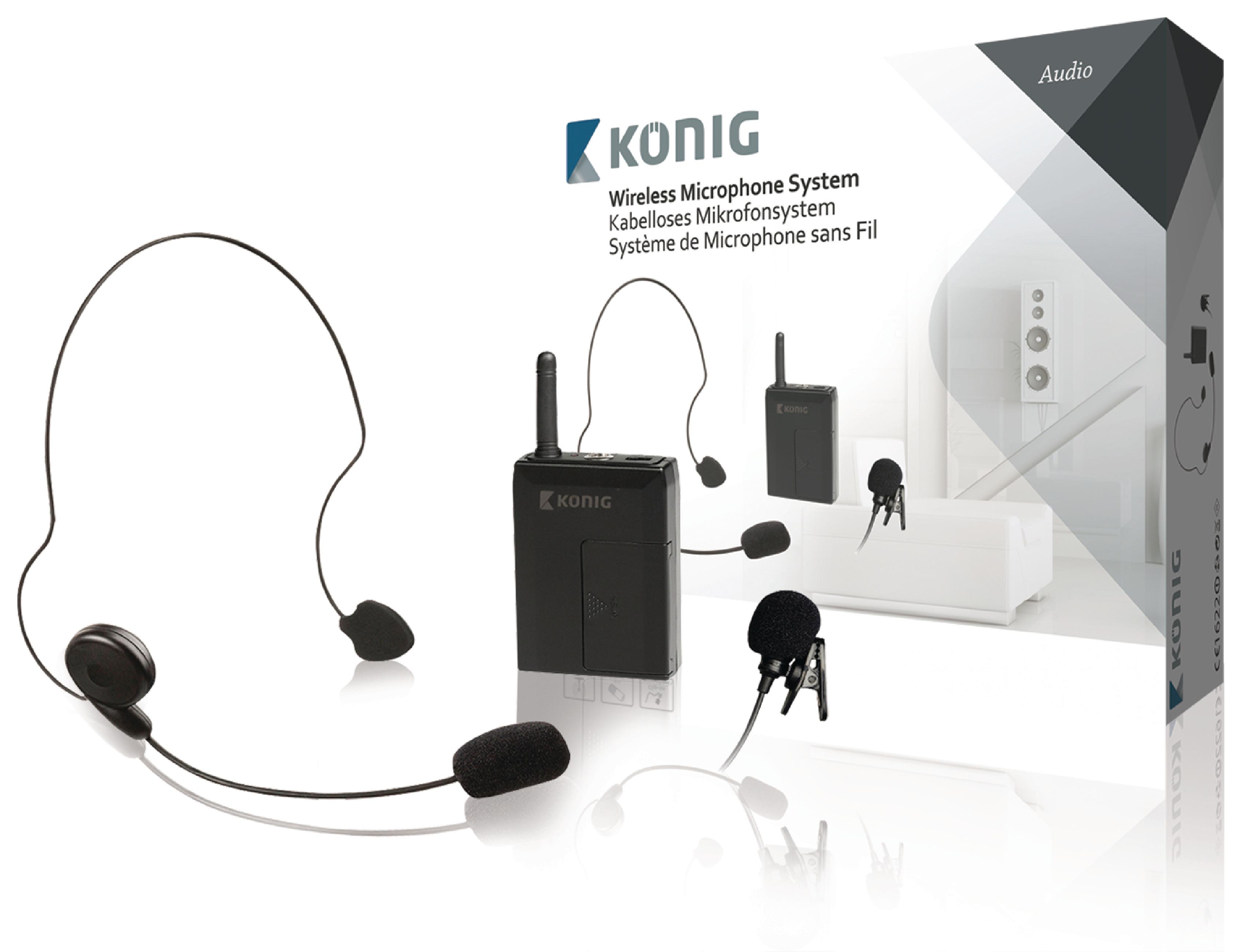 Bezdrátový mikrofon bodypack pro KN-MICW611 a KN-MICW621
