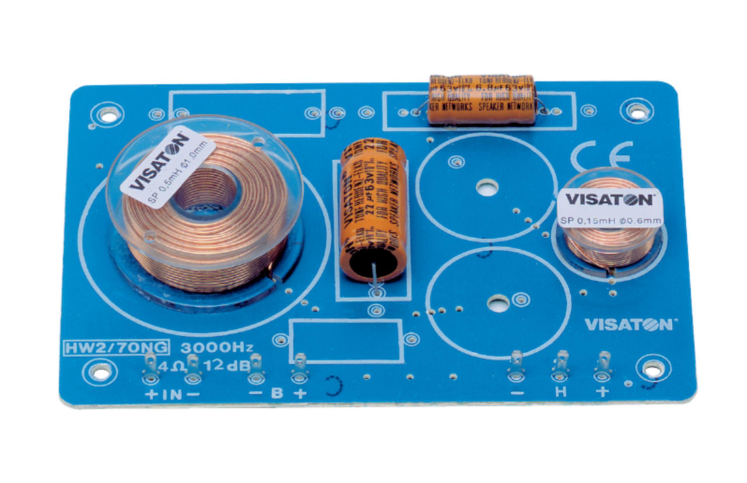 Frekvenční výhybka 4 Ohm Visaton, VS-HW2/70NG/4