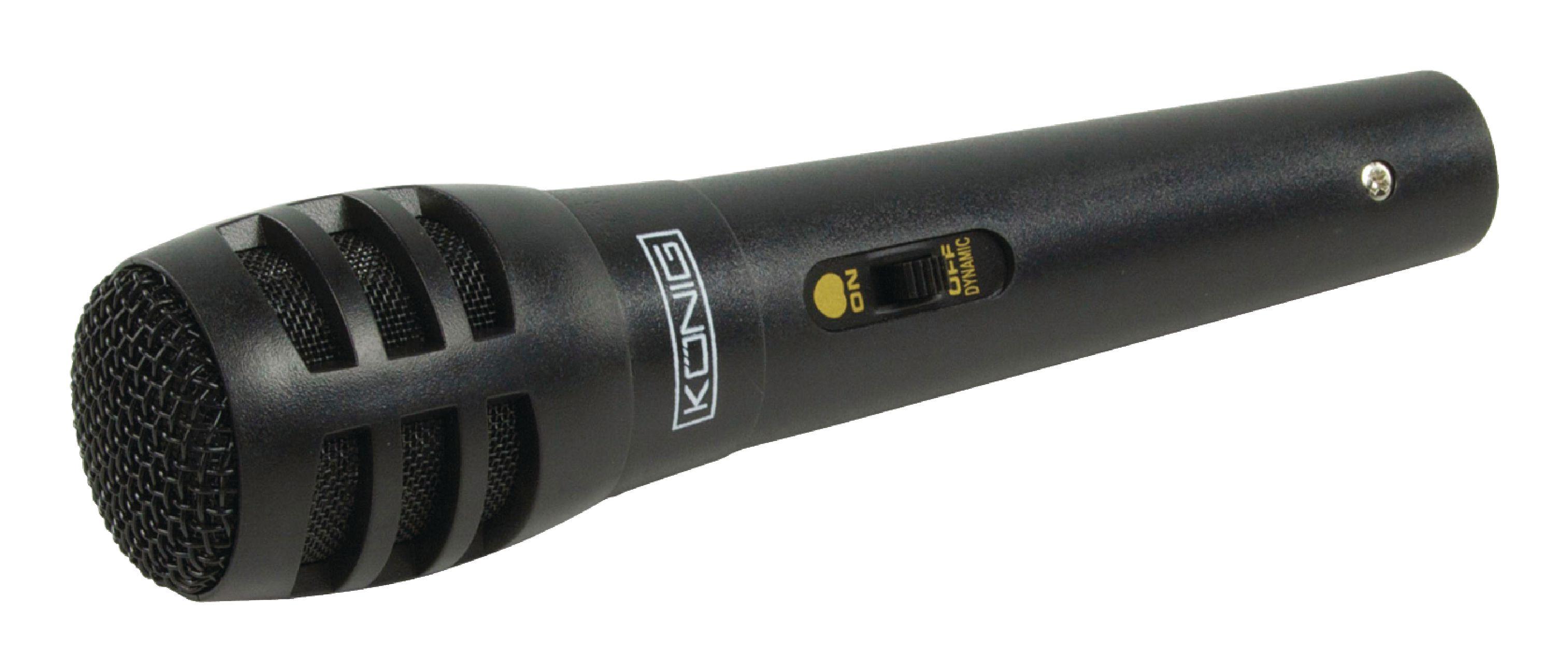 Mikrofon 80Hz-12kHz König KN-MIC15
