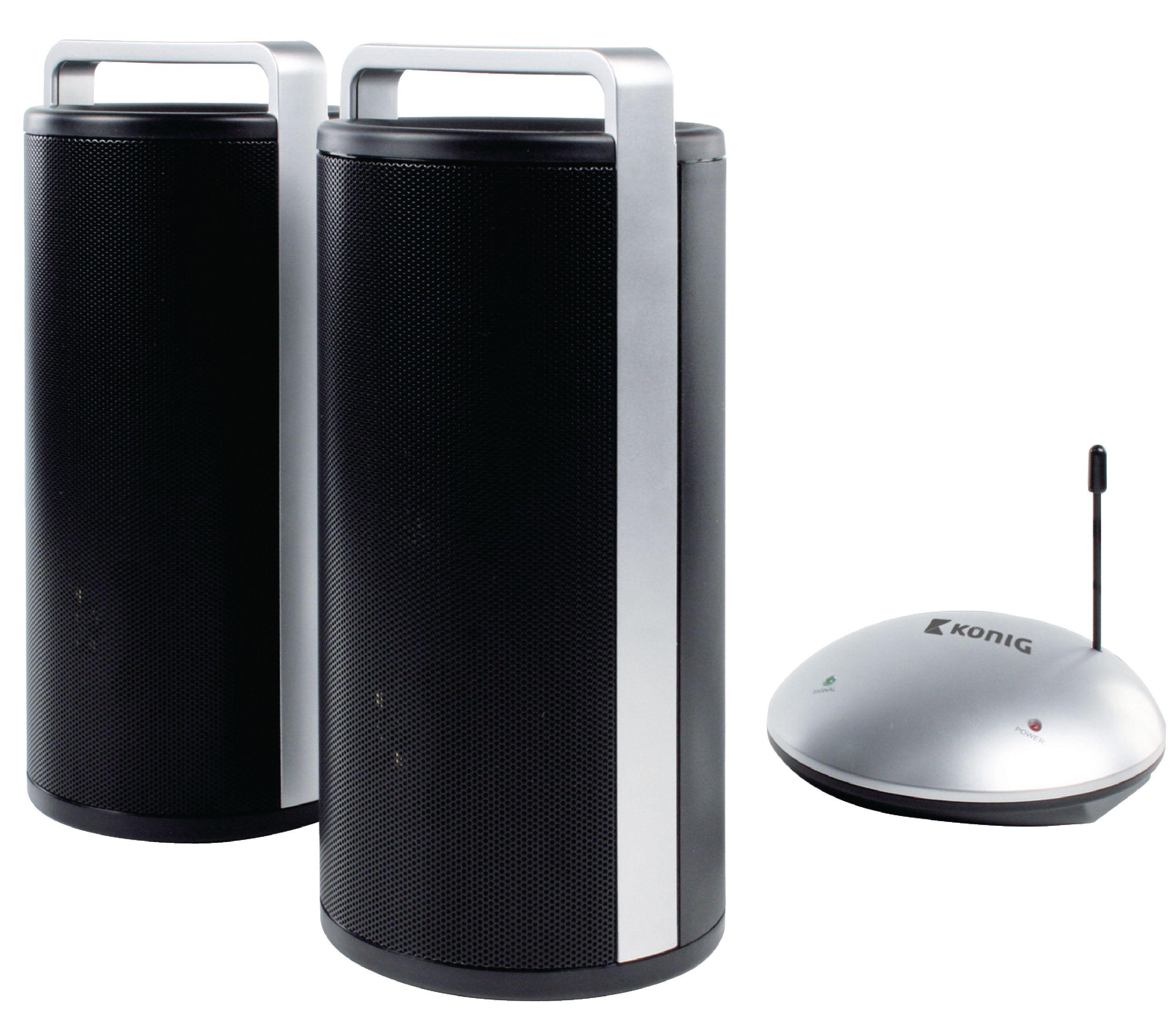 Bezdrátové stereo reproduktory 7 W König TRSP20KN