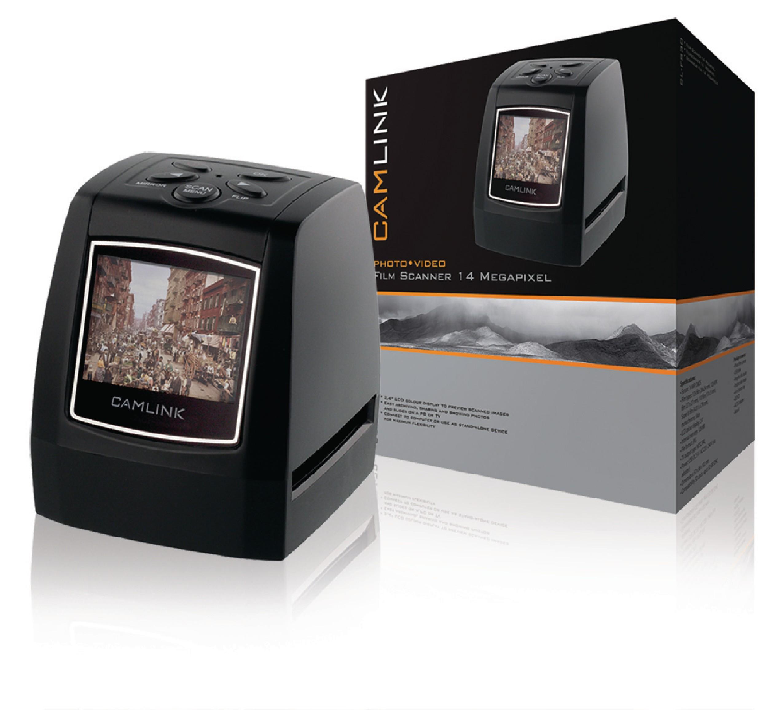 Filmový skener s LCD, 14 Mpixel, Camlink CL-FS30