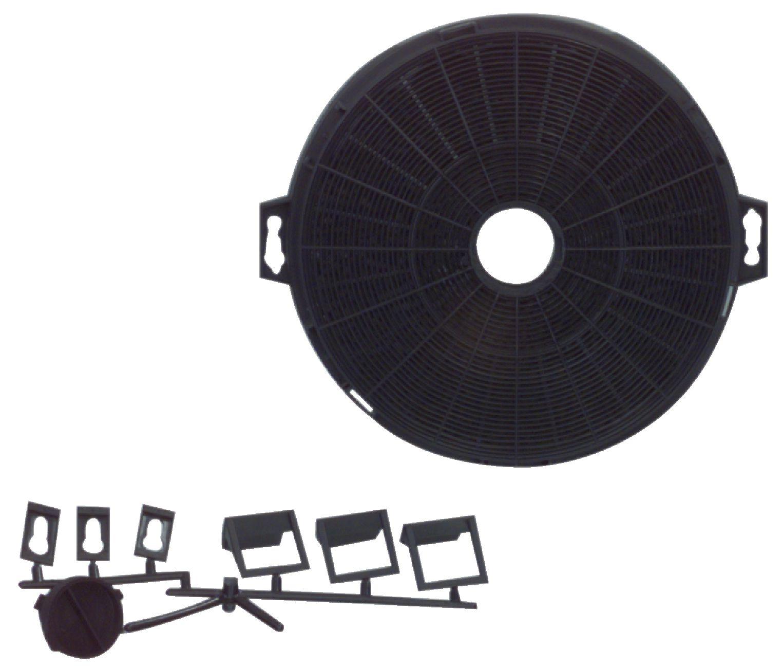 Uhlíkový filtr do digestoře, uni Ø 21 cm Fixapart W4-49911